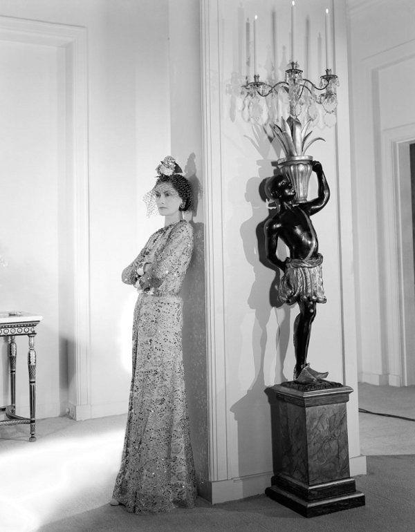 Coco Chanel photographed by Cecil Beaton in the 1930s.