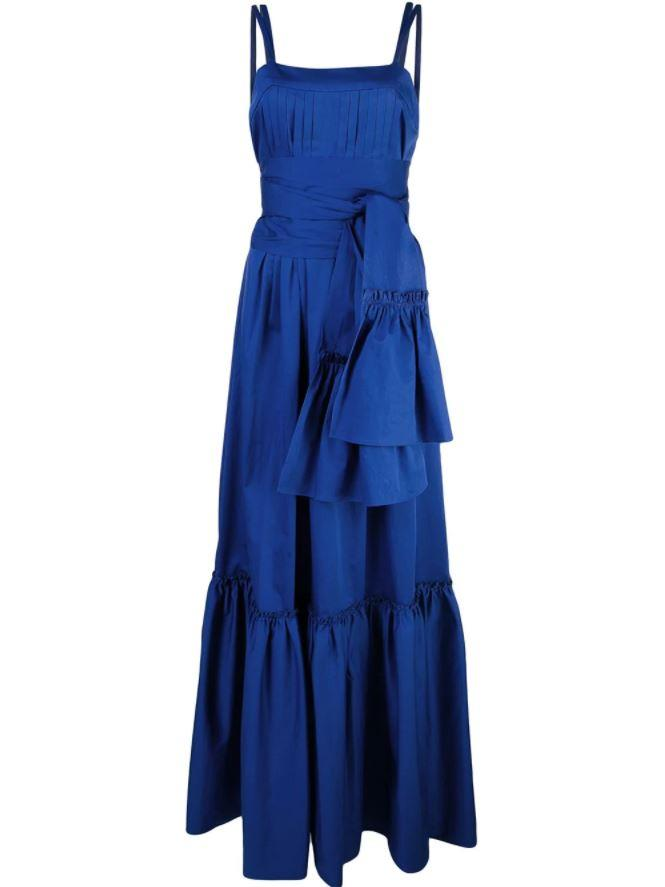 """'Ophira' dress by Alexis, $822 at [Farfetch](https://fave.co/2sQVxYD