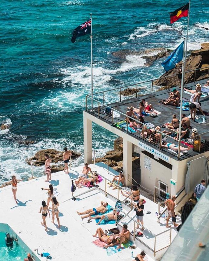 """**Bondi Icebergs Club** <br><br> If a pre-2020 swim and sauna is more your vibe than a bottle of Veuve, you'll be pleased to know Sydney icon Icebergs will stay open until 9pm on New Year's Eve so you can hit reset and refresh before the midnight fireworks. Then, back it up with a New Year's Day session (the pool will be open then too) and poke fun at all your hungover pals. <br><br> *For more info, head [here](https://icebergs.com.au/