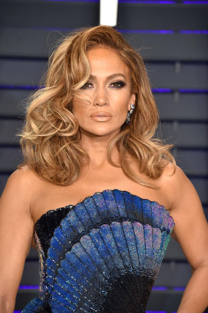 "**Jennifer Lopez**<br><br>  While she may be one of the biggest hair chameleons in Hollywood, Jennifer Lopez isn't planning on letting her greys show—yet.<br><br>  ""I was prematurely grey at 23. I have to have [my roots] touched up every couple of weeks,"" Lopez [told](https://people.com/style/celebrities-who-have-gray-hair-cover-it-up/?slide=5669428#5669428