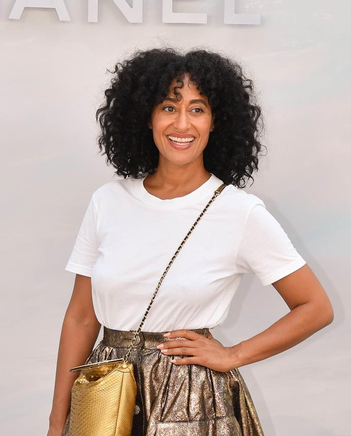 "**Tracee Ellis Ross**<br><br>  Actress Tracee Ellis Ross admitted she has a love-hate relationship with her silver strands in July 2017.<br><br>  ""I was like, 'Yes! I'm grown up!' But I do go to a person and have the grey hairs dyed,"" she [said](https://people.com/style/celebrities-who-have-gray-hair-cover-it-up/?slide=5577051#5577051