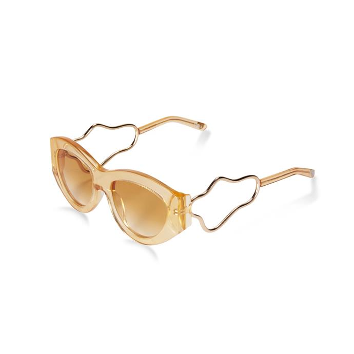 "*A chic pair of sunglasses*<br><br> Sunglasses, $280 by [Holly Ryan x Pared Eyewear](https://hollyryan.com.au/collections/accessories/products/hr-x-pared-eyewear-amber-squiggle|target=""_blank""