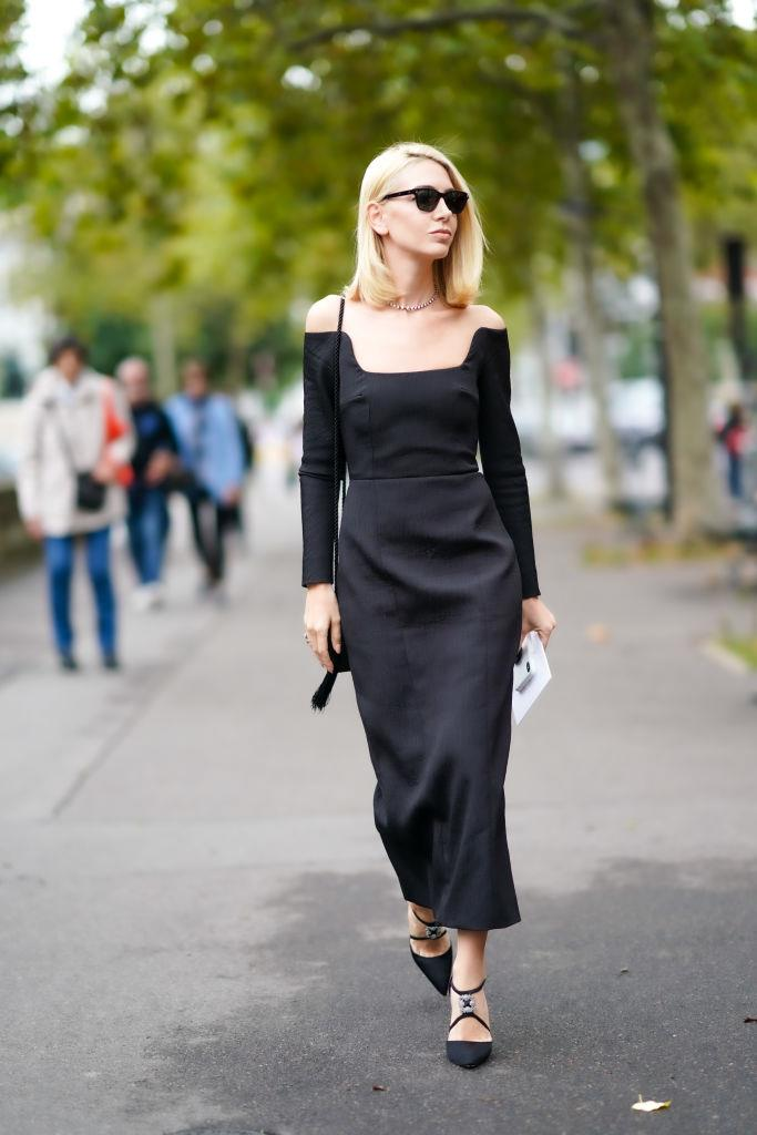 """**Besides white, what should you avoid wearing to a beach formal wedding?**<br><br>  *BLACK AND STILETTOS*<br><br>  """"Avoid black. [It's] highly impractical in the blistering heat. And stilettos, which will have you sinking into quicksand before you hear 'I do',"""" said Nina."""