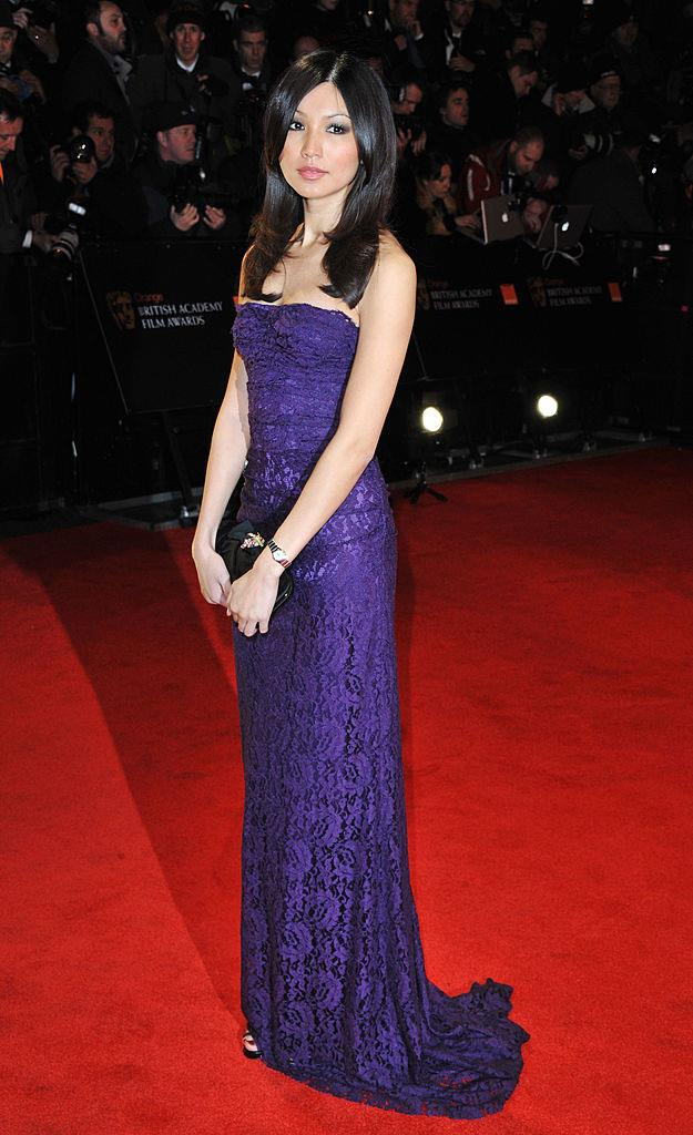 ***Gemma Chan: Then*** <br><br> Pre-*Crazy Rich Asians* Gemma Chan played it very safe (albeit, still elegantly) on the red carpet, pictured here at the BAFTAs in 2011.