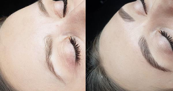 Brow Lamination Before & After: See The Results | Harper's BAZAAR Australia