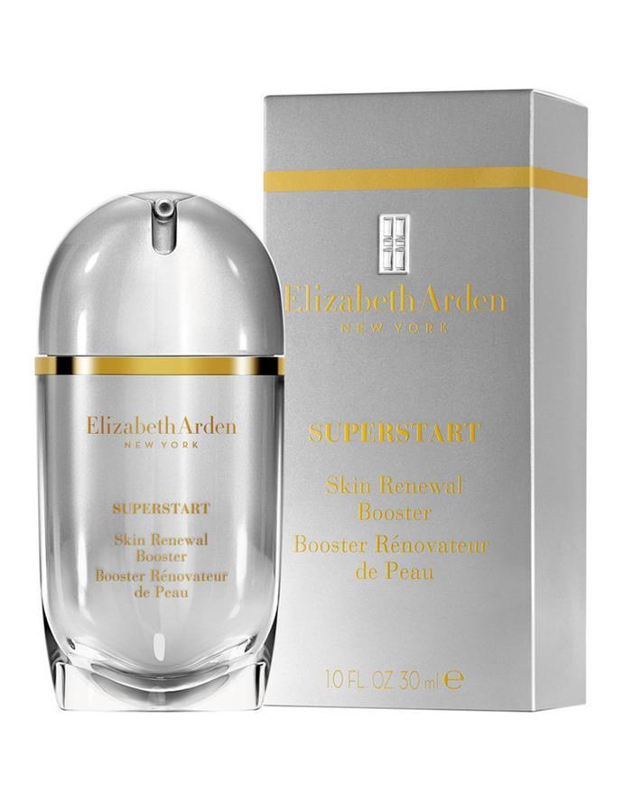 "**Best Probiotic Treatment** <br><br> Elizabeth Arden Superstart Skin Renewal Booster, $120 at [David Jones](https://www.davidjones.com/Product/20150360?istCompanyId=466a8370-6b00-4f27-87e1-ca6839e80dd6&istFeedId=e623e8fb-2ac0-43c5-9b01-5f07405aa50c&istItemId=wpwplmrqq&istBid=t&gclid=Cj0KCQiA_rfvBRCPARIsANlV66MdgLuq_Q6EYySwyfY_qNPf2JaK405fegBtJwmde_yfsnYMmq-wImkaAnCbEALw_wcB&gclsrc=aw.ds|target=""_blank"")."