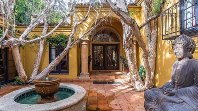 ***Kendall Jenner's house*** <br><br> When she's not travelling around the world working as a model, Kendall Jenner resides in a $10+ million home in Beverly Hills, California, which was once owned by actor Charlie Sheen. <br><br> *Image: Trulia*