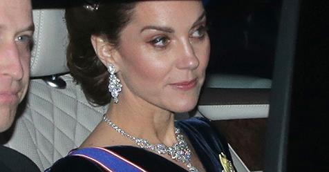 Kate Middleton Wears Diana's Tiara To Buckingham Palace Reception | Harper's BAZAAR Australia