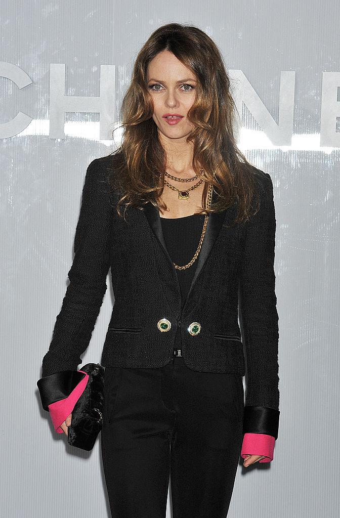 Paradis at a Chanel party in March 2012.