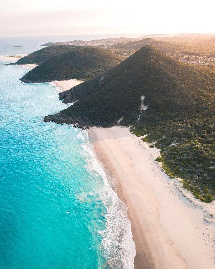 "**SYDNEY: Port Stephens**<br><br>  Drive time: Approximately 3 hours.<br><br>  *Image via [@changingtides_](https://www.instagram.com/p/B5ABATSA-fC/|target=""_blank""|rel=""nofollow"")*"