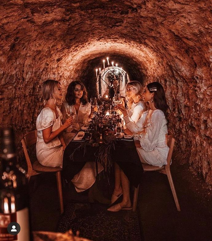 "**ADELAIDE: The Barossa Valley**<br><br>  Do: Have a one-of-a-kind culinary evening at [Maxwell Wine's Lime Cave Dining Experience](https://www.maxwellwines.com.au/lime-cave/|target=""_blank""