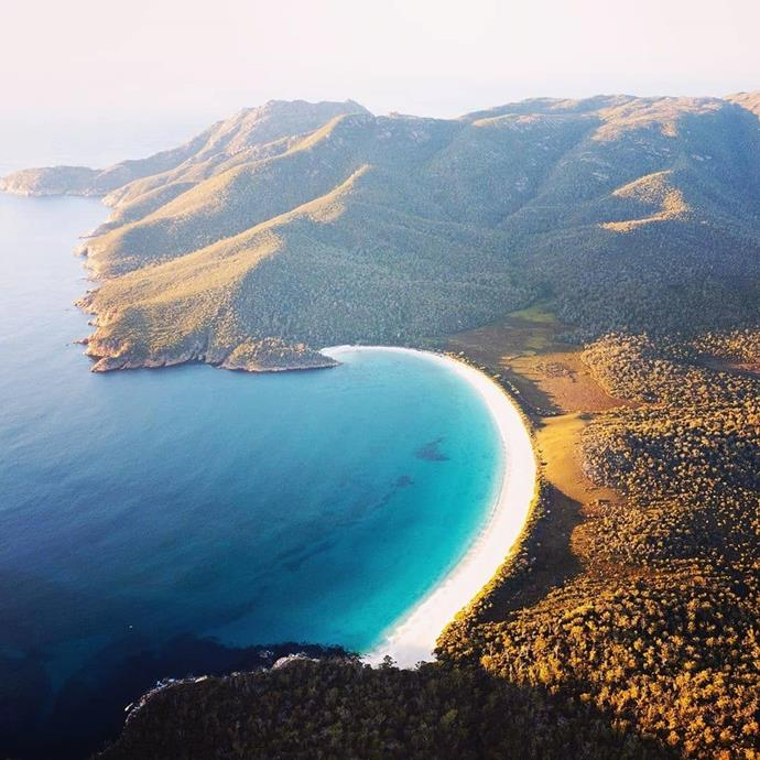 "**HOBART: Freycinet National Park**<br><br>  Drive time: Approximately 2.5 hours.<br><br>  *Image via [@laurenepbath](https://www.instagram.com/laurenepbath/|target=""_blank""