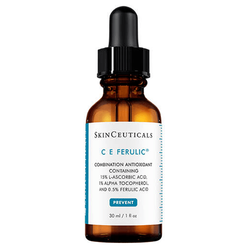"""C E Ferulic Serum by SkinCeuticals, $210 from [Adore Beauty](https://www.adorebeauty.com.au/skinceuticals/skinceuticals-c-e-ferulic-serum.html