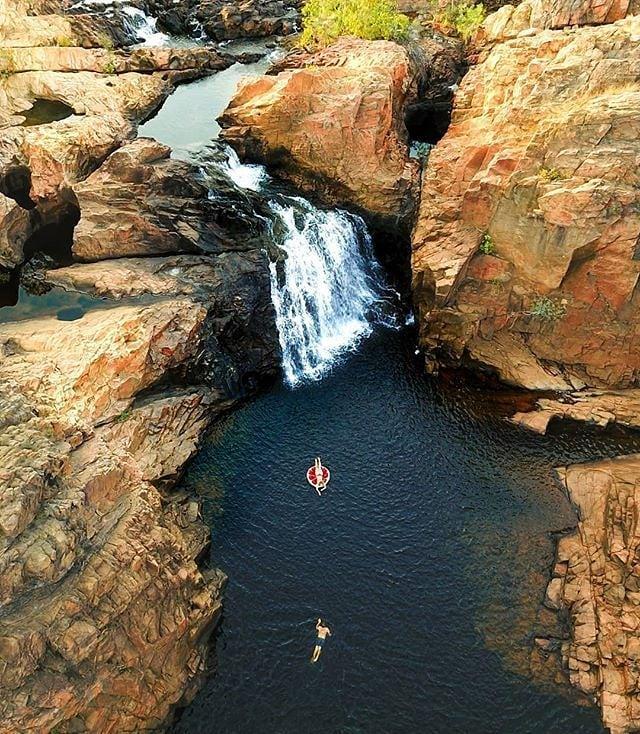 "**DARWIN: Nitmiluk National Park**<br><br>  Drive time: Approximately 3 hours.<br><br>  *Image via [@ntaustralia](https://www.instagram.com/ntaustralia/ target=""_blank"" rel=""nofollow"")*"