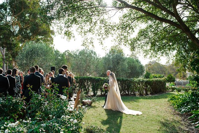 **On the type of ceremony:** The ceremony and reception was held at Tannamurra Homestead in the Swan Valley.