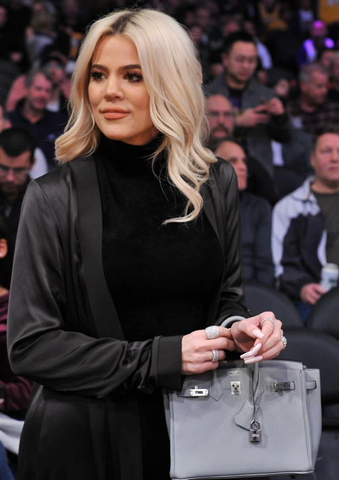 **4. Khloé Kardashian**<br><br>  Taking out fourth place, Khloé Kardashian reportedly made USD $1.2 million (AUD $1.72 million) from Instagram alone in 2019. Per *BuzzBingo*,  she reportedly earned USD $598K (AUD $856K) per post and only did two ad posts in the entire year.
