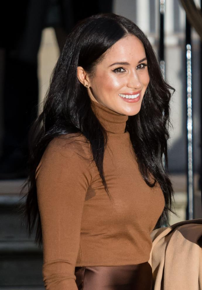 Meghan Markle, the Duchess of Sussex on January 7, 2020.