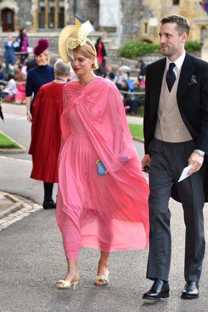 "**Pixie Geldof in Céline at the wedding of Princess Eugenie and Jack Brooksbank, 2018** <br><br> We'd ask those who criticised Pixie Geldof's Céline outfit (before the brand dropped the [famous accent](https://www.harpersbazaar.com.au/fashion/hedi-slimane-drops-the-accent-from-celine-17268|target=""_blank"")) to look back at the house's archives, when fashion deity [Phoebe Philo](https://www.harpersbazaar.com.au/culture/philophile-meaning-17802