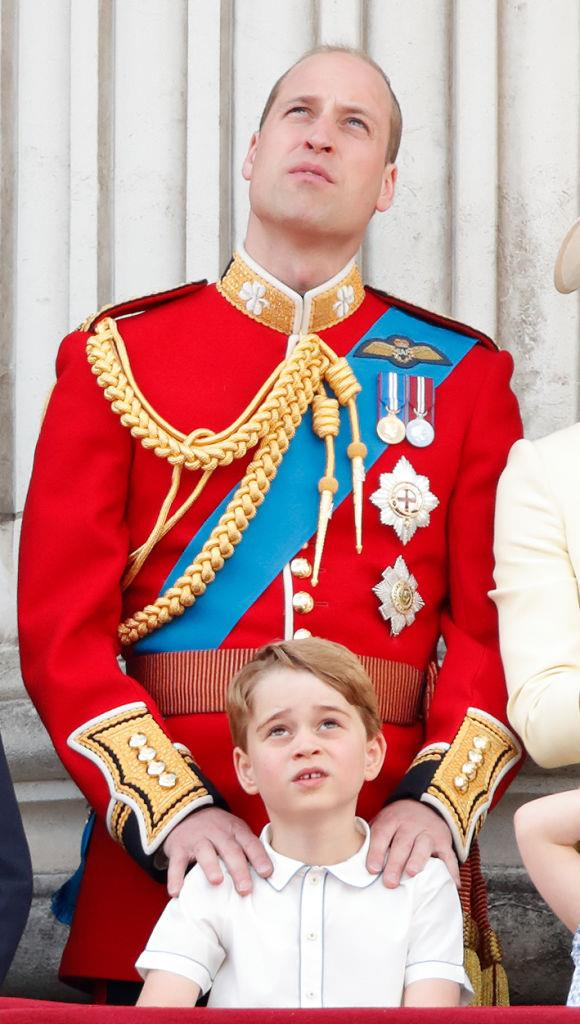 **TWO HEIRS AREN'T ALLOWED TO TRAVEL TOGETHER.** <br><br> Once Prince George turns 12, he and William will have to fly separately.