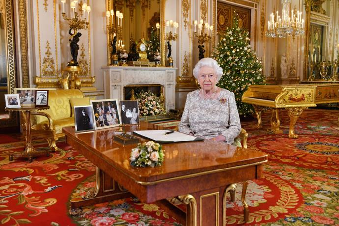**THE QUEEN INSISTS ON SPENDING A WEEK PREPARING FOR CHRISTMAS.** <br><br> The family's annual Christmas celebration is held at the Queen's Sandringham Estate in Norfolk, and she arrives a week early to prepare.