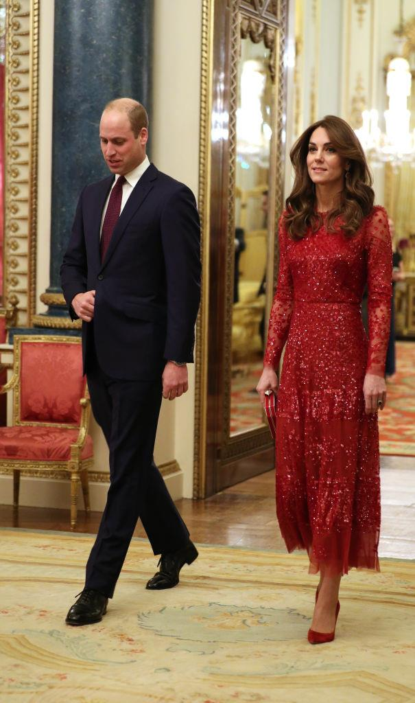 Prince William and Duchess Kate Middleton on January 20, 2020.
