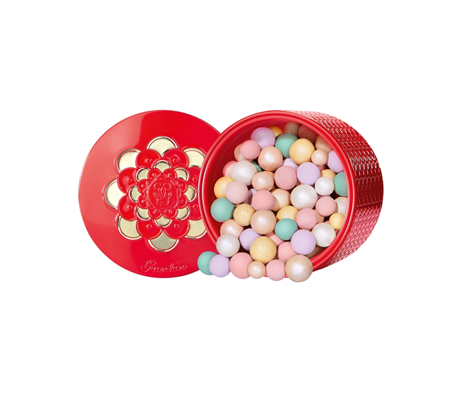 "**Meteorites Pearls Face Powder Lunar New Year Edition by Guerlain, $89 at [Sephora](https://www.sephora.com.au/products/guerlain-meteorites-pearls-face-powder-limited-edition-lunar-new-year-2020/v/default|target=""_blank"")**"