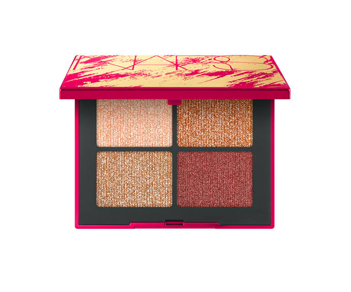 "**Lunar New Year Singapore Eyeshadow Quad by NARS, $80 at [MECCA](https://www.mecca.com.au/nars/lunar-new-year-singapore-eyeshadow-quad/I-041851.html?cgpath=brands-nars|target=""_blank"")**"
