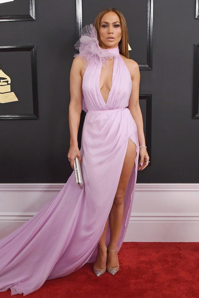 **Jennifer Lopez in Ralph & Russo, 2017**