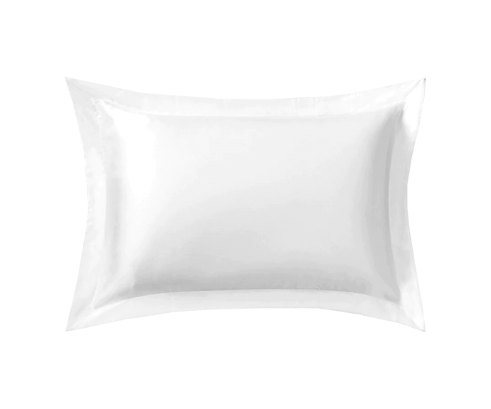 "**Lanham Silk Pillowcase in Snow, $89.95 by [Sheridan](https://www.sheridan.com.au/lanham-single-tailored-pillowcase-s13f-b120-c195-003-snow.html|target=""_blank"")**<br> Your washing machine may get a workout, but the luxe look of this wintry white is worth it."
