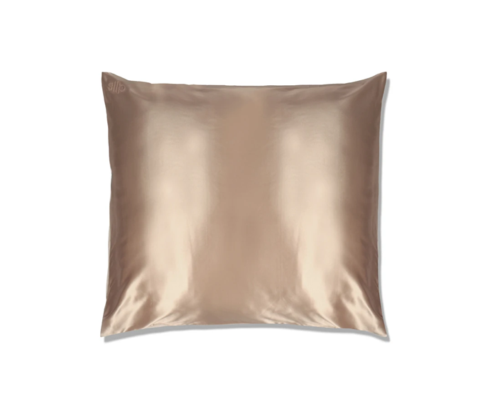"**Caramel Euro Zippered Pillowcase, $105 by [Slipsilk](https://www.slip.com.au/collections/shop-all/products/pillowcase-caramel-euro-zippered|target=""_blank"")**<br> Switching to silk doesn't mean you need to compromise your case size of choice; this european option offers the best of both worlds."