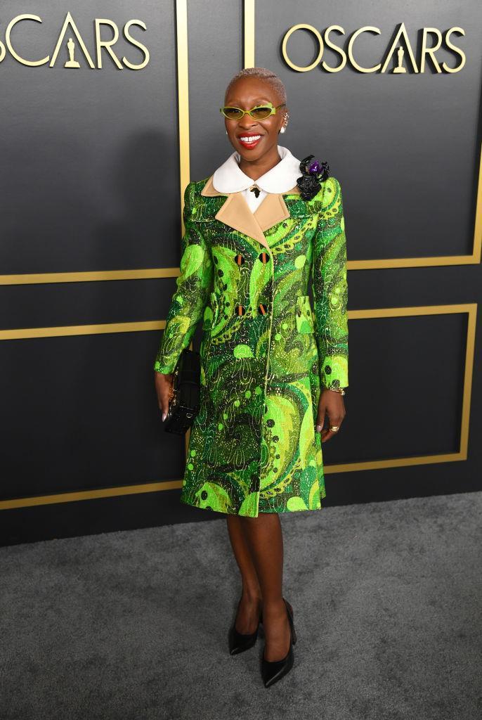 Cynthia Erivo in Louis Vuitton.