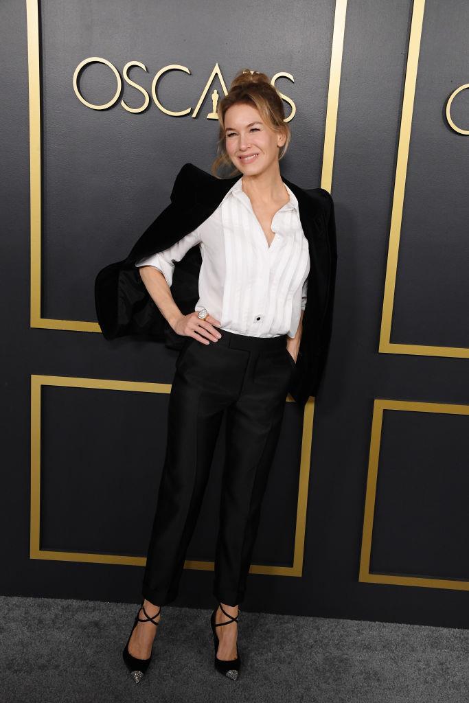 Renée Zellweger in Tom Ford.