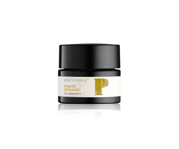 """**PhotoDynamic Eye Cream SPF15 by Rationale, $140 at [David Jones](https://www.davidjones.com//23213081/PhotoDynamic-Eye-Cream-SPF15.html