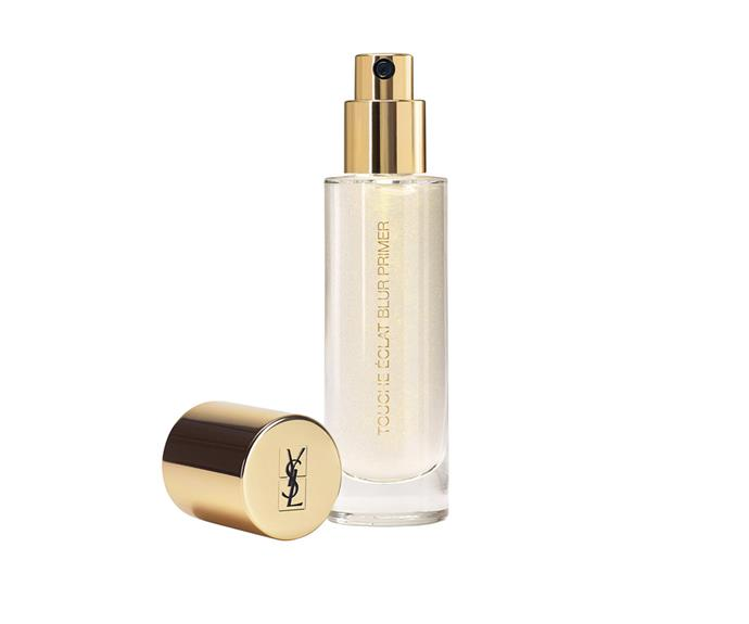 "**Touche Éclat Blur Primer by Yves Saint Laurent, $72 at [MECCA](https://www.mecca.com.au/yves-saint-laurent/touche-eclat-blur-primer/I-022401.html?cgpath=makeup-complexion-primer|target=""_blank"")**<br> This luminosity-booster blurs the look of pores and fine lines as it goes."
