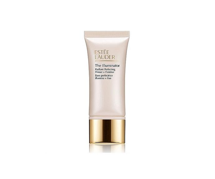 "**The Illuminator Radiant Perfecting Primer + Finisher, $52 by [Estée Lauder](https://www.esteelauder.com.au/product/631/46413/product-catalog/makeup/the-illuminator/radiant-perfecting-primer-finisher|target=""_blank"")**<br> Soothing Vitamin E and smoothing shea butter leave your complexion silky."