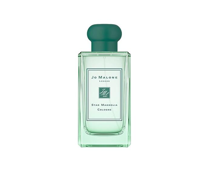 "**Star Magnolia Cologne by Jo Malone London, $198 at [David Jones](https://www.davidjones.com/brand/jo-malone-london/22589915/Star-Magnolia-Cologne-100ml.html|target=""_blank"")**<br> Expertly towing the line between sharp and spicy, this multifaceted mix allows a burst of bright citrus to cut through its sensual sandalwood base."
