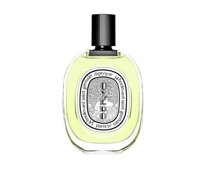 "**Oyédo EDT by Diptyque, $184 at [MECCA](https://www.mecca.com.au/diptyque/oyedo-edt/V-014546.html?cgpath=fragrance|target=""_blank"")**<br> This fragrance practically invented the term 'fresh': with watermelon, lime, yuzu and mint, it's clean, crisp and utterly captivating."