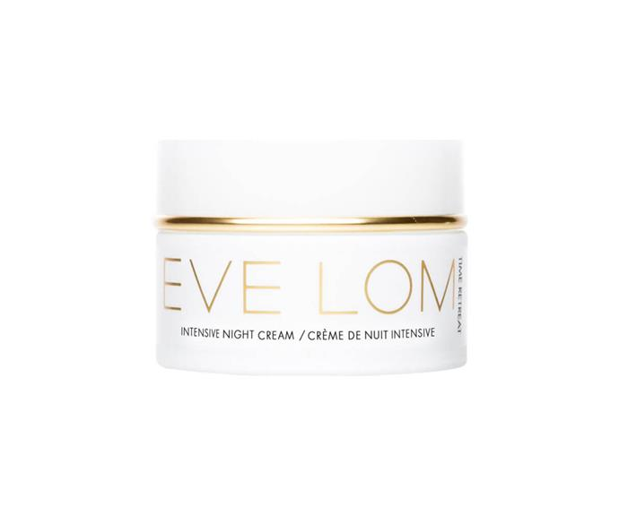 """**Time Retreat Intensive Night Cream by Eve Lom, $178 at [MECCA](https://www.mecca.com.au/eve-lom/time-retreat-intensive-night-cream/I-027174.html