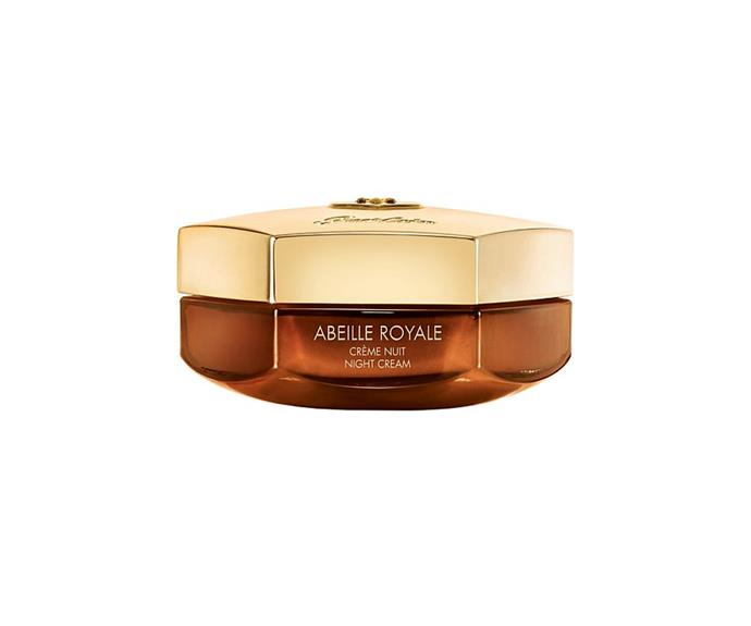 """**Abeille Royale Night Cream by Guerlain, $255 at [David Jones](https://www.davidjones.com//22930616/Abeille-Royale-Night-Cream-50ML.html