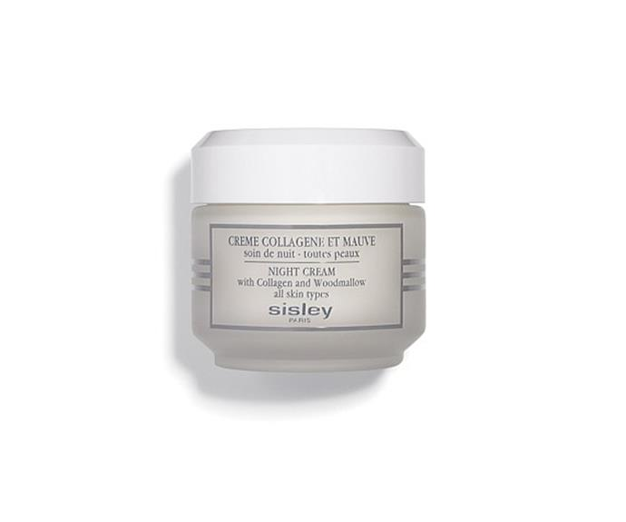 """**Creme Collagene Et Mauve Pot by Sisley Paris, $255 at [David Jones](https://www.davidjones.com//20628640/Creme-Collagene-Et-Mauve-Pot.html
