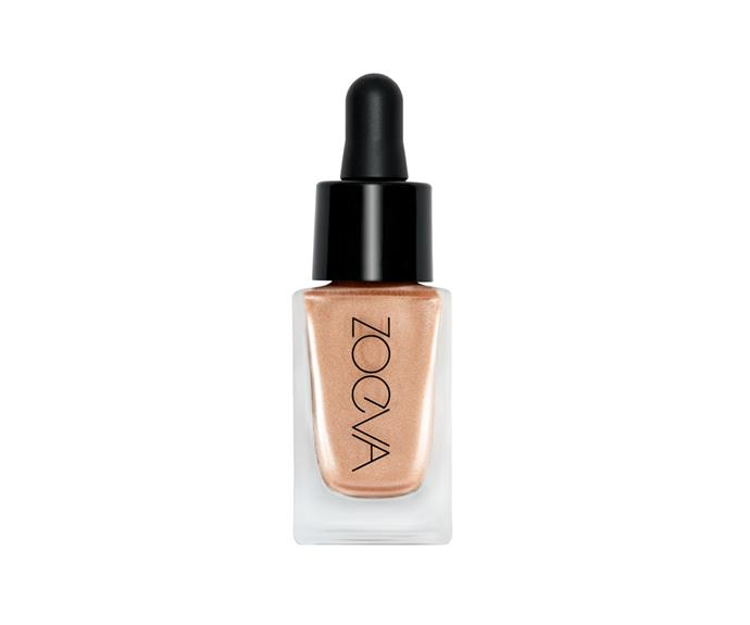 """**Liquid Light Drops Highlighter by Zoeva, $32 at [Sephora](https://www.sephora.com.au/products/zoeva-liquid-light-drops-highlighter/v/astro
