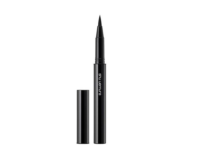 """**Calligraph Ink Eyeliner Pack by Shu Uemura, $44 at [David Jones](https://www.davidjones.com/beauty/eyes/eyeliners/20093209/Calligraph-Ink-Eyeliner-Pack.html