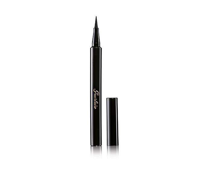 "**L'Art Du Trait Precision Felt Eye Liner by Guerlain, $56 at [David Jones](https://www.davidjones.com/Product/20215759/LArt-Du-Trait-Precision-Felt-Eyeliner|target=""_blank"")**<br> A no-transfer felt tip offering an impressive eight hours of wear."