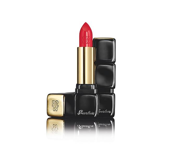 "**KissKiss Creamy Shaping Lip Colour in French Kiss by Guerlain, $53 at [David Jones](https://www.davidjones.com/Product/22945723/KissKiss-Creamy-Shaping-Lip-Colour|target=""_blank"")**<br> Blended with hyaluronic acid, this bullet is both plumping and pigment-packed."