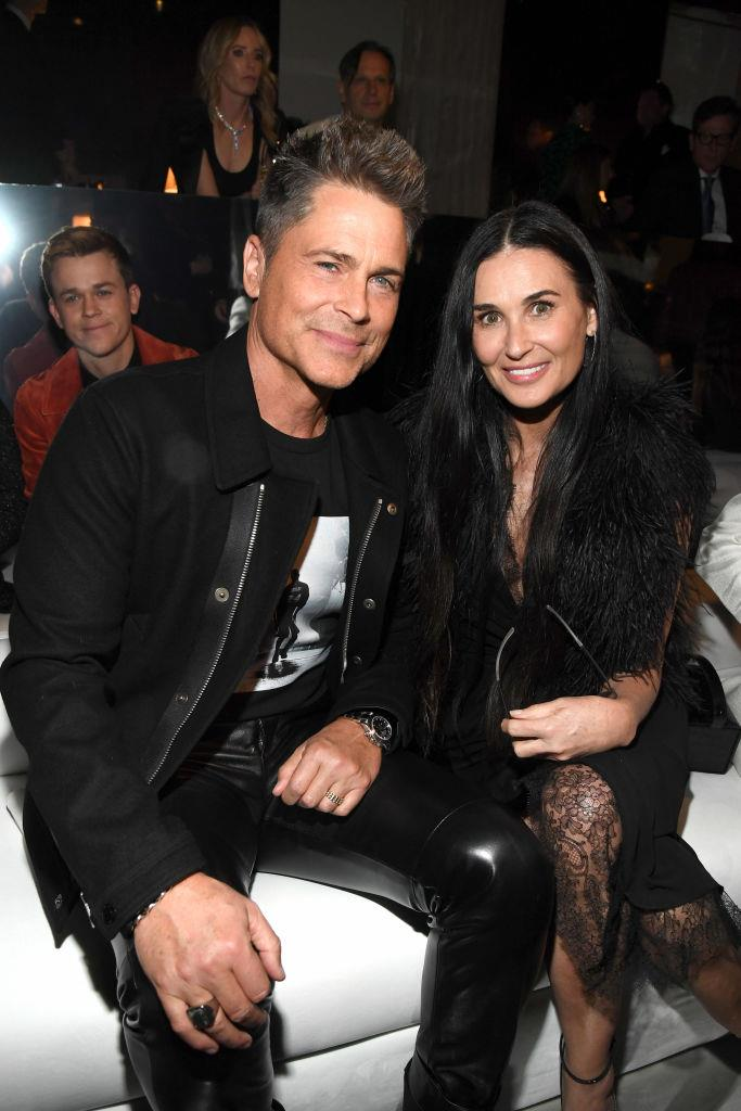 Rob Lowe and Demi Moore