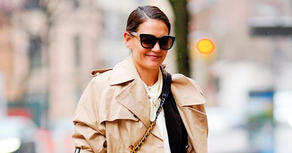 Katie Holmes Just Became The Unofficial Ambassador For This New It-Bag