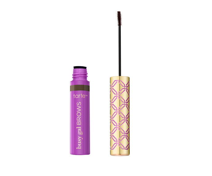 "**Busy Gal Brow Gel by Tarte, $27 at [Sephora](https://www.sephora.com.au/products/tarte-busy-gal-brow-gel/v/black-brown|target=""_blank"")**<br> Infused with Amazonian clay, it's long-lasting, non-sticky and pigment-packed."