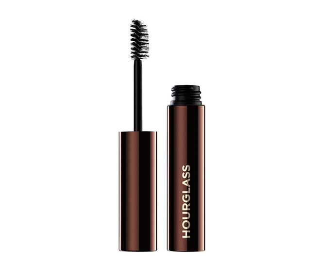 "**Arch Brow Volumising Fiber Gel by Hourglass, $43 at [MECCA](https://www.mecca.com.au/hourglass/arch-brow-volumizing-fiber-gel/V-031537.html?cgpath=makeup-eyebrows-gel|target=""_blank"")**<br> A volumising clear gel with a dual-sided brush that leaves no hair undefined."