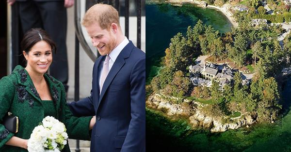 Inside The $20 Million Canadian Mansion Prince Harry and Meghan Markle Are Reportedly Living In