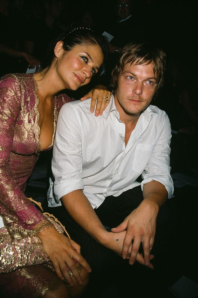 **Helena Christensen and Norman Reedus** <br><br> Following her relationship with the late Michael Hutchence, Helena Christensen dated and eventually married actor Norman Reedus, between 1998 and 2003. The supermodel and the *Walking Dead* actor are still on good terms, and have a son together, 18-year-old Mingus Reedus, who's also a model (with those genes, we're not surprised).